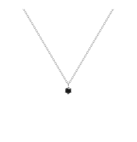 COLLAR PLATA PD PAOLA BLACK HOLIDAY SILV