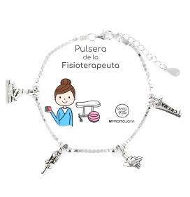 PULSERA DE LA FISIOTERAPEUTA EN PLATA