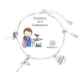 PULSERA DE LA CAMARERA EN PLATA