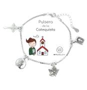 PULSERAS DE LA CATEQUISTA EN PLATA